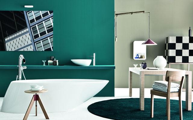 Bagno senza confini foto 1 livingcorriere - Arredo bagno anni 50 ...
