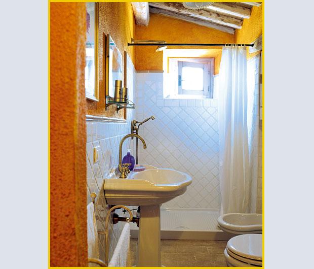 Una cascina in miniatura foto 1 livingcorriere - Bagno in miniatura ...