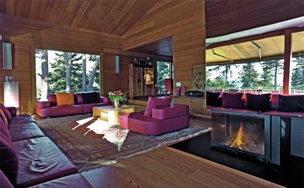 Il legno dei tempi foto 1 livingcorriere for Foto interni di case moderne