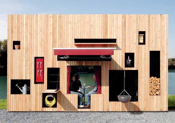 Piccole case di genio foto 1 livingcorriere for Piani di costruzione di piccole case