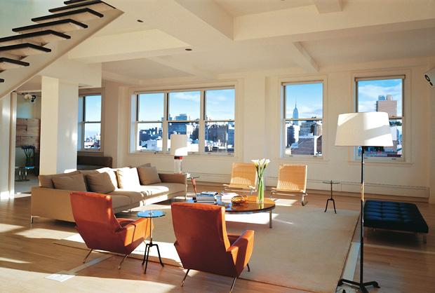 Sui tetti di new york foto 1 livingcorriere for Interni case lussuose