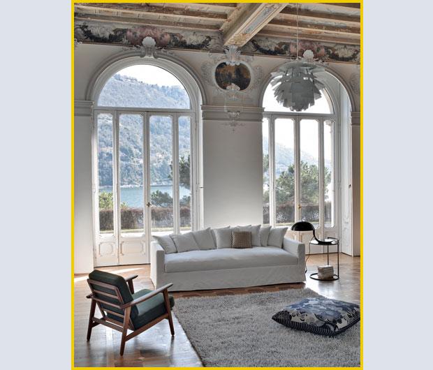 Bianco classico foto 1 livingcorriere - Soggiorno classico bianco ...
