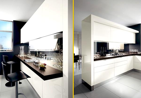 La cucina invisibile foto 1 livingcorriere - Cucina nascosta ...