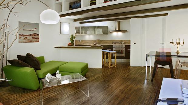 Nel linguaggio creativo dei loft foto 1 livingcorriere - Cucina con soppalco ...