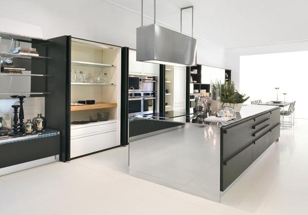 Cucine Con Ante Scorrevoli A Scomparsa.Flessibilita Totale Foto 1 Livingcorriere