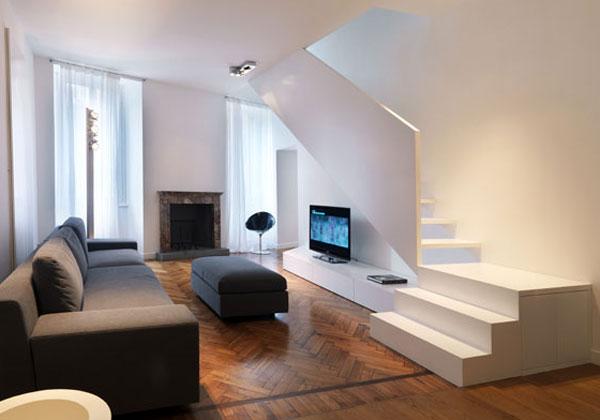 Su due piani foto 1 livingcorriere for Appartamenti a 2 livelli
