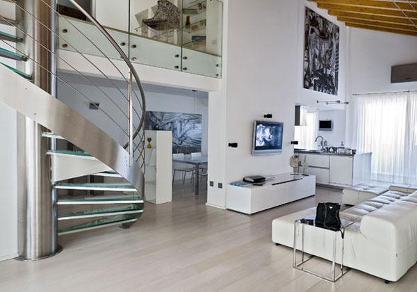 Su due piani foto 1 livingcorriere for Casa moderna 2 piani