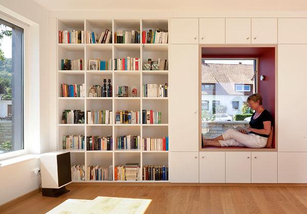 Vivere tra i libri foto 1 livingcorriere for Soluzioni arredo soggiorno