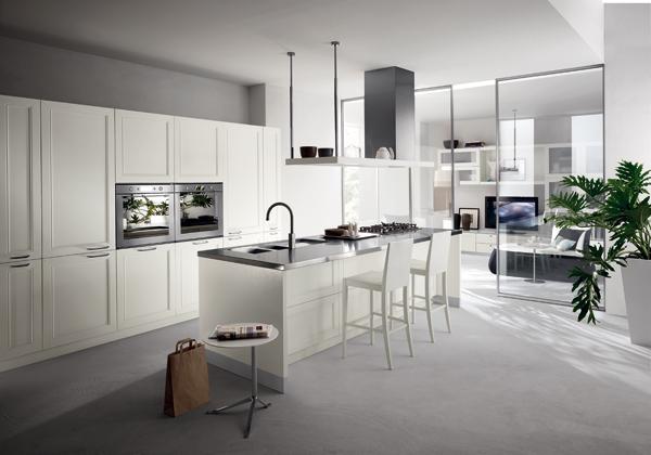 Pareti comunicanti foto 1 livingcorriere - Soggiorno living con cucina ...