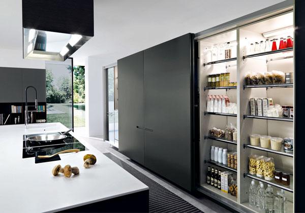 Cucine da vivere foto 1 livingcorriere - Dispense per cucina ...