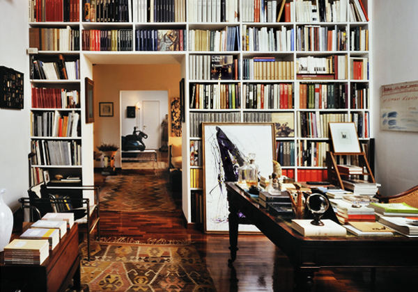 Libri nelle stanze foto 1 livingcorriere for Libri finti ikea