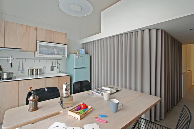 A misura di famiglia foto 1 livingcorriere for Pareti per dividere una stanza