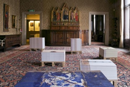 Ancora un mese per visitare il Padiglione dell'Angola, che alla sua prima partecipazione alla Biennale d'Arte di Venezia ha vinto il Leone d'oro