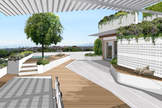 Una terrazzo con vista - Terrazzi di design ...