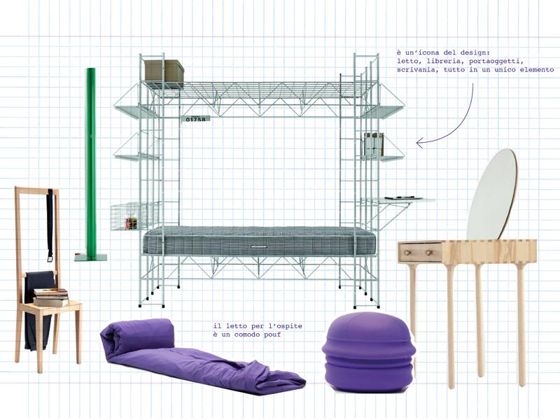 Soluzioni ad hoc per spazi minimi foto 1 livingcorriere - Soluzioni letto per piccoli spazi ...