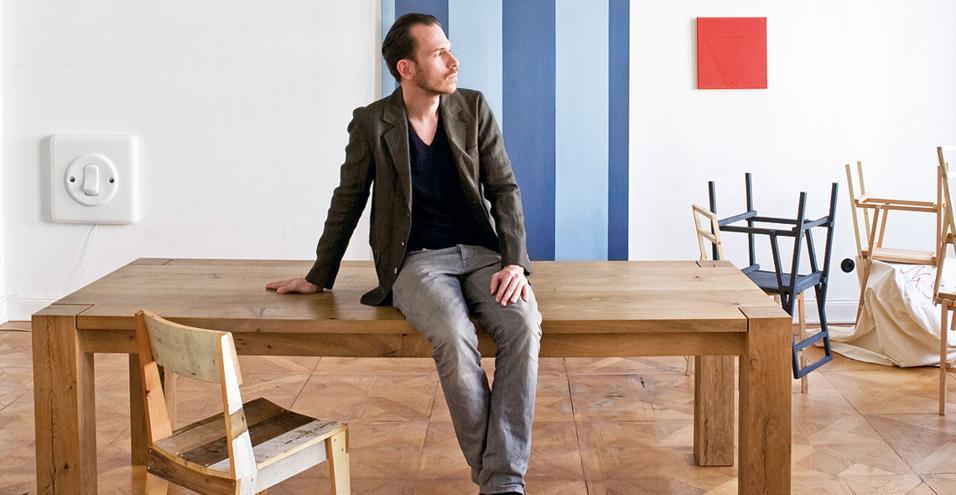 Da spazio privato a studio il passo è breve. Ce lo racconta lo stilista tedesco Frank Leder. Che ha deciso di trasformare l'abitazione berlinese a Charlottenburg nel quartier generale della sua attività