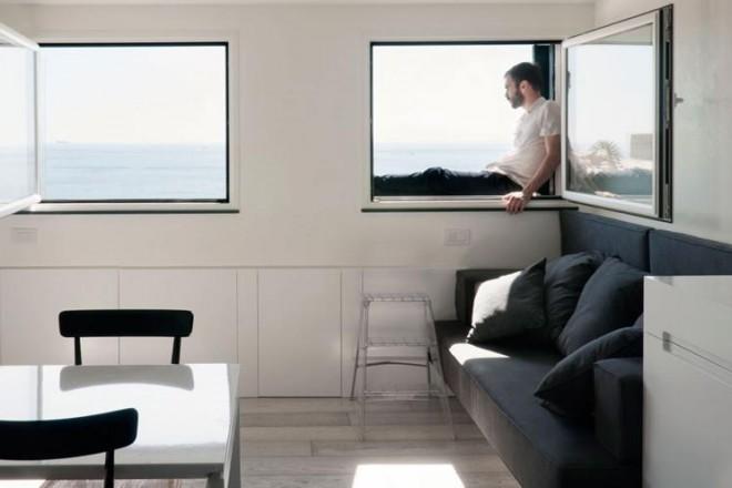 Mini casa al mare con vista for Arredo bagno alba