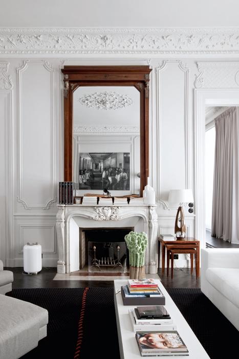 Casa parigi stile classico for Case arredate stile classico