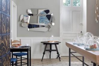 Per portare a casa il ricordo della vacanza, il B&B Château de la Resle inaugura una sua collezione di oggetti e mobili