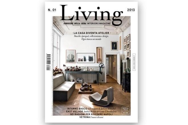 Il primo numero di living livingcorriere for Rivista di programmi domestici