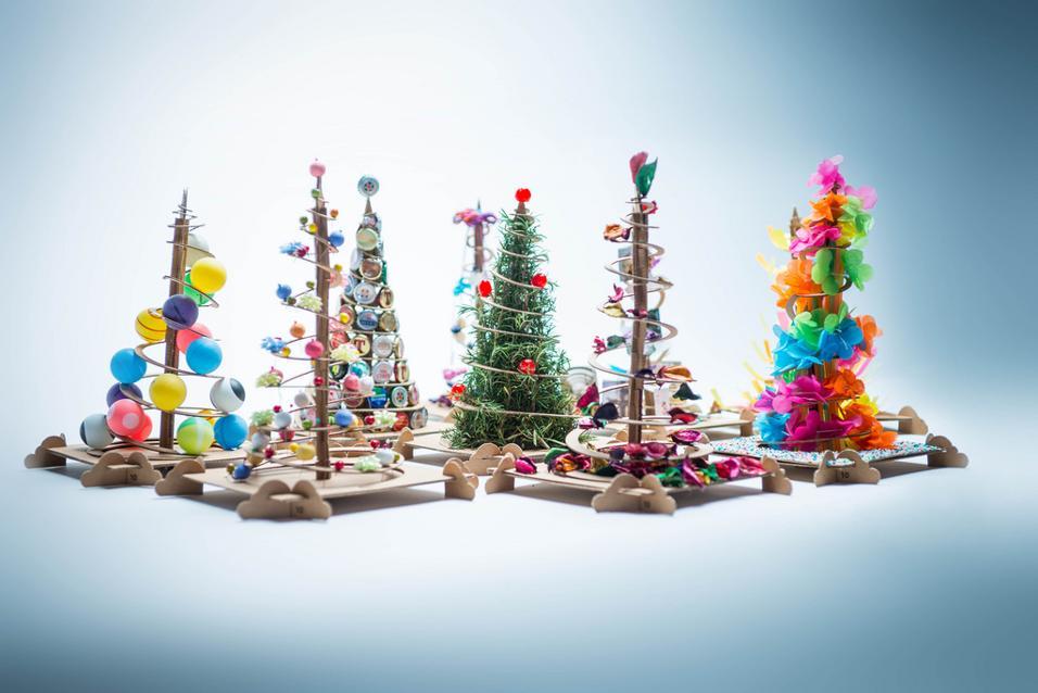 Super Un albero di Natale fai da te personalizzato RP19