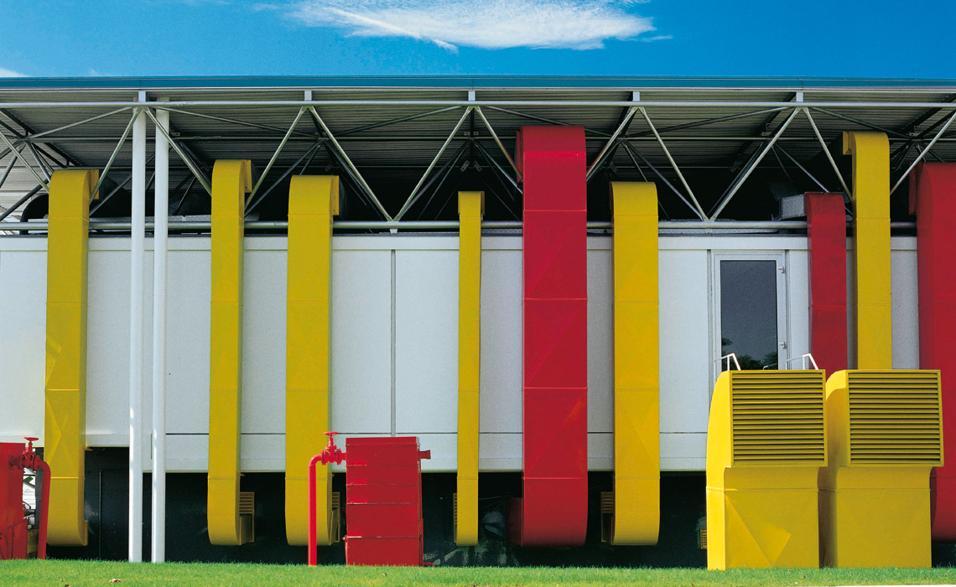 La sede B&B Italia firmata Renzo Piano e Richard Rogers