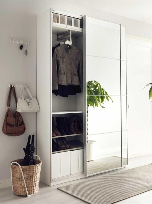 Arredare piccoli spazi - Ikea ante mobili ...