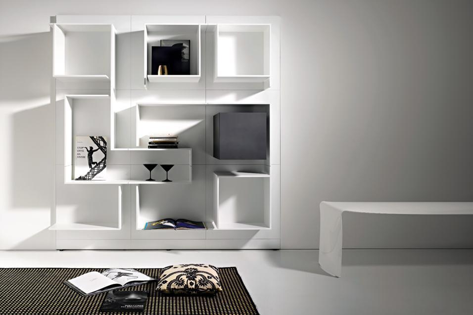 Librerie pareti attrezzate for Configuratore arredamento