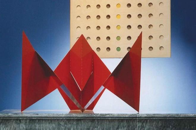 La collezione Polato in mostra nello showroom milanese