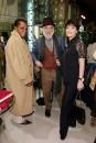 Marva Griffin e Barnaba Fornasetti con Daniela Riccardi durante la serata/evento per i 250 anni di Baccarat a Milano