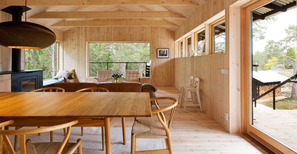 Casa nel bosco for Www home piani foto