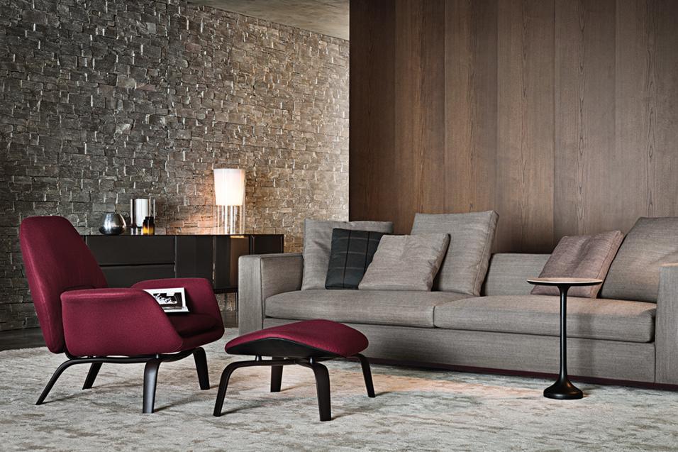 Arredare il soggiorno tavolini da salotto - Divano grigio abbinamenti ...