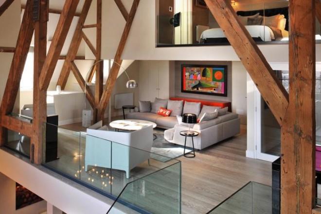 Attico di lusso a londra for Appartamento new design roma lorenz