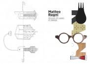 """Oltre all'esposizione dei progetti, verrà anche presentato il volume """"Matteo Ragni - Almost 20 years of design"""" edito da Corraini Edizioni con il contributo critico di Beppe Finessi."""