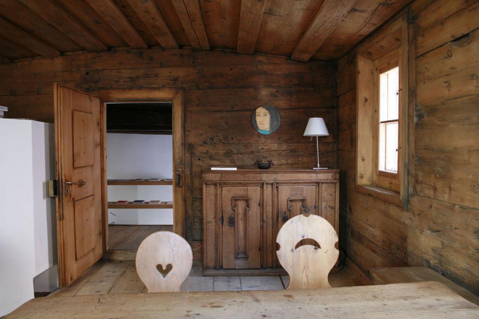 Arredare casa in montagna foto living corriere - Arredare casa in montagna ...