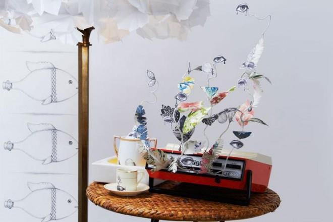 Elena Borghi con la collaborazione di Cavalli e Nastri e Olivinta firma una capsule collection onirica in edizione limitata. In foto alcuni pezzi della collezione.elenaborghi.com