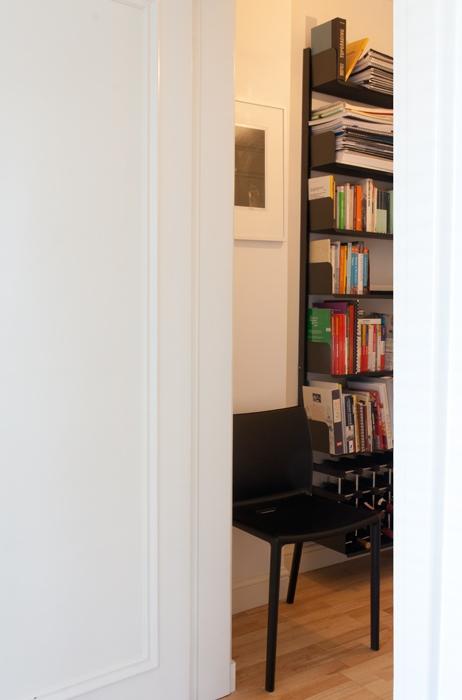 Il corridoio visto dalla camera da letto