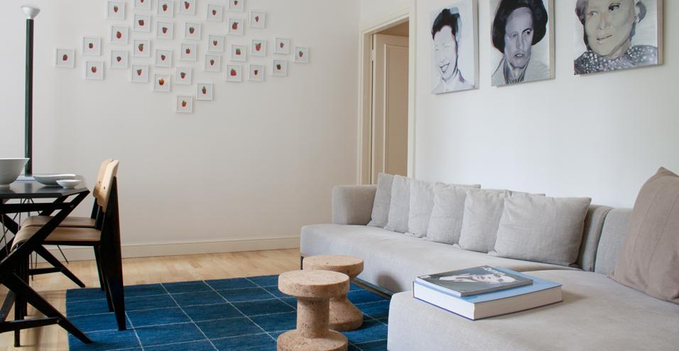 L'angolo relax in soggiorno