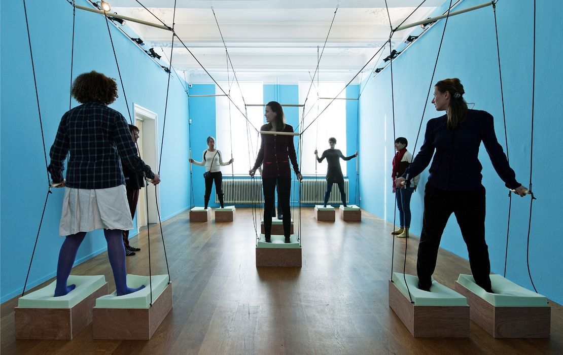 Ludmila Rodrigues Individual and social explorations in the Room for Movement, 2014