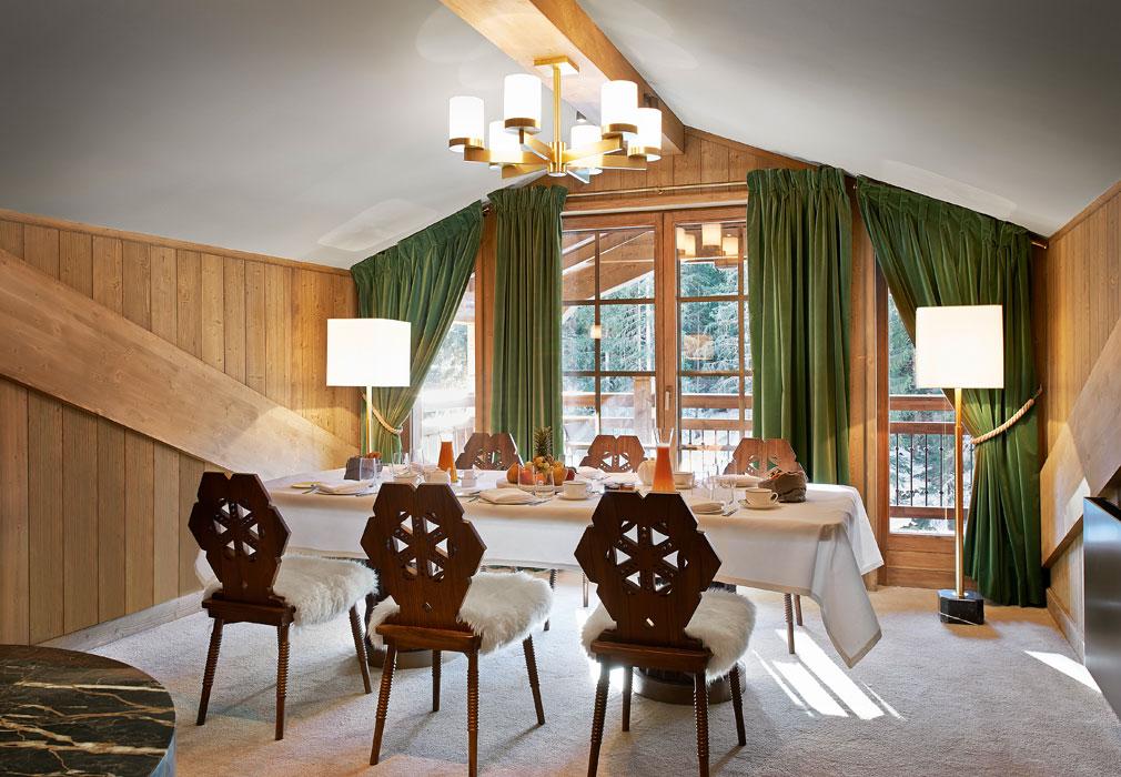 Hotel di lusso in montagna for Arredamento di montagna moderno