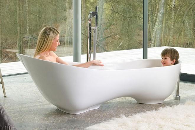 Vasca Da Bagno Piccola Con Piedini : Una vasca per due