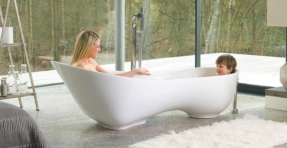 Una vasca per due - Vasche da bagno particolari ...