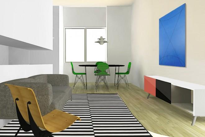 Un interno con cucina aperta sul soggiorno - LivingCorriere