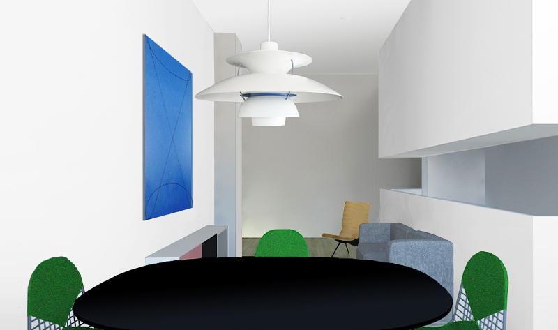 Un interno con cucina aperta sul soggiorno - Foto 1 LivingCorriere