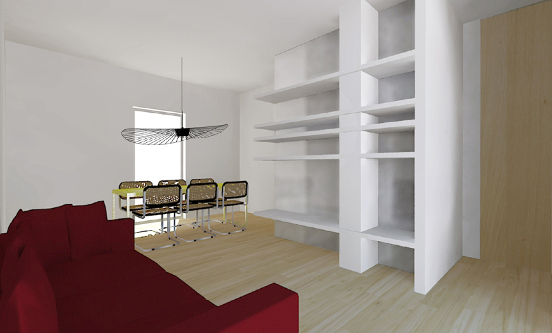 Ristrutturare un appartamento a partire dal living foto for Ristrutturare un appartamento