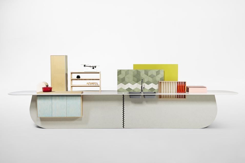 Un nuovo modo di concepire il bagno e reinventare la cucina. Al Fuorisalone 2014 Raw Edges Design Studio in collaborazione con Caesarstone presenta Islands: una serie di soluzioni non convenzionali per la casa.