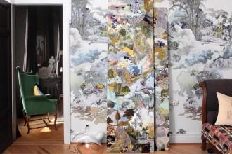 La Cina di Francesco Simeti. Un progetto site specific ispirato all'Oriente invade Primopiano, l'appartamento dell'art dealer Diego Cassina a Lugano. Aperto su appuntamento, traccia orizzonti inediti tra pubblico e privato