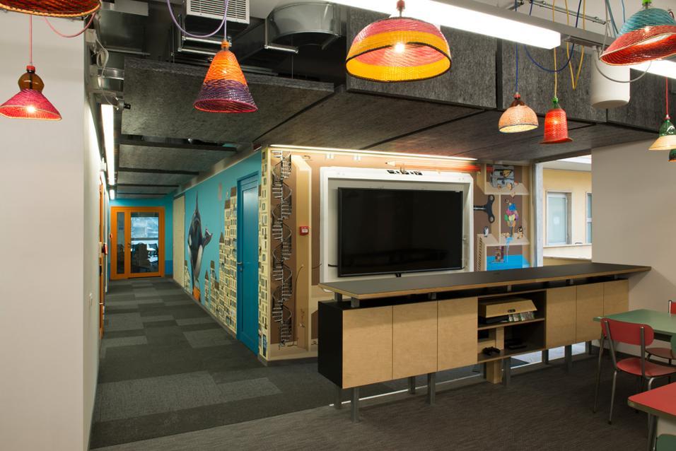 Disegno Di Ufficio : Lavoro di squadra di cartone colorato o ufficio disegno astratto