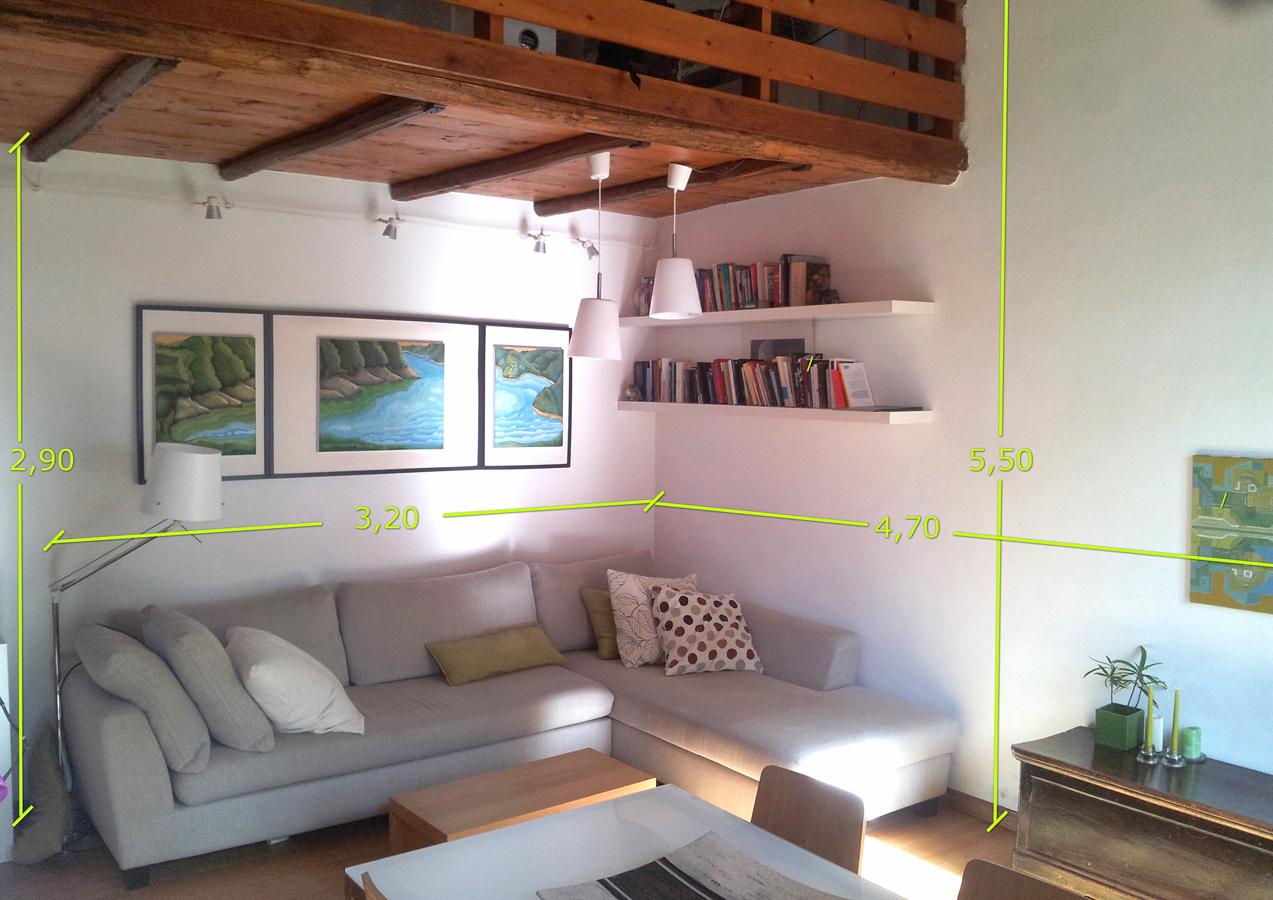 Come vivacizzare il soggiorno con un giardino verticale ...