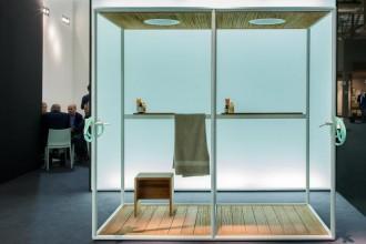 L'incontro tra i due brand ha dato vita ad una proposta bagno completa a 360° presentata al Salone del Mobile 2014